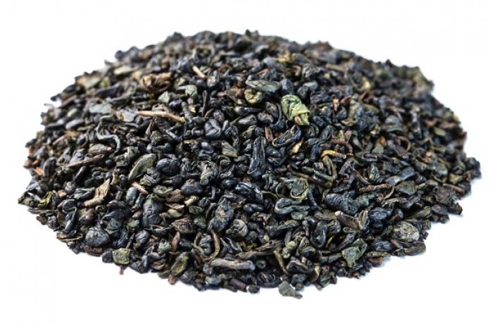 Чай зеленый МЭТР Ганпаудер листовой