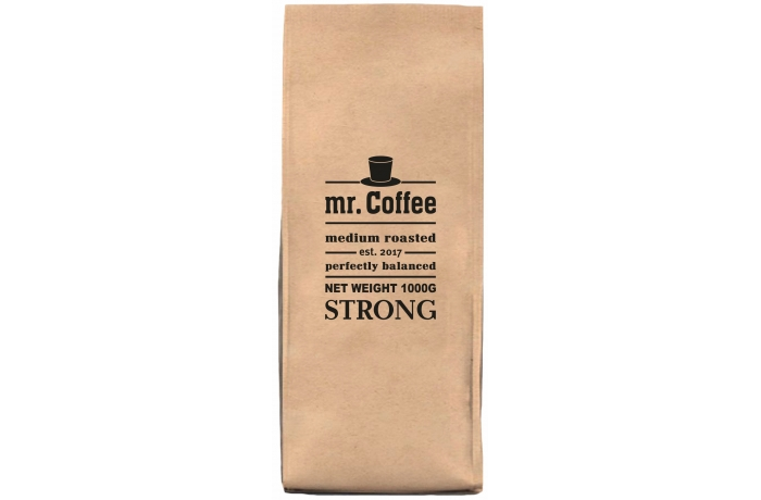Mr. Coffee Italian Strong зерновой кофе